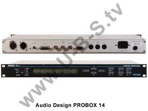 Audio Design Probox 14 - Timecode Transcoder