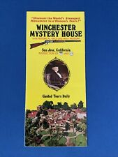 Winchester Big Game Loads brochure circa 1958 tin sign house decoration items