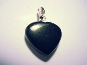 Edelstein Herzchen Anhänger 1,5-2,3cm pendentif pendolo ciondolo colgante cuore
