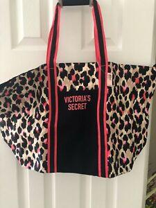 VICTORIA,S SECRET.......MULTICOLOR CANVAS BAG WITH STRAPS