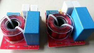 2x SUBWOOFER-FREQUENZWEICHE 180 Watt 100Hz/12db für richtigen SUBWOOFER-DRUCK