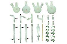 Proglass Advanced Organic Chemistry Kit 24/40 Lab Glassware kit