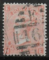 SG94.  4d.Vermilion Plate 8.  A Well Centred Lightly Used Example.  Ref:0722