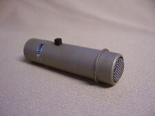 Vintage Baird-Atomic Model 2207S Dynamic Lavalier/Lapel Mic Turner w mute button