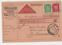 germany 1926  stamps card ref 18953