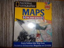 NATIONAL GEOGRAPHIC MAPS THE WAR SERIES PC CD-ROM