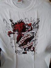 Red Dragon Gaspari Nutrition T-Shirt XL Fruit of the Loom gym workout shirt