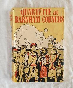 Quartette At Barnham Corners by Ellen Elliot   HC/DJ 1951 1st Edition (vintage)