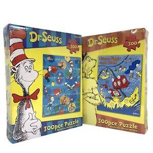 2 x Dr. Seuss 300 pcs Jigsaw Puzzle 60.5cmx45.5cm NEW SEALED | FREE EXPRESS POST