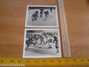 Kent St vs Yale Taft 1930's mens Hockey photos game