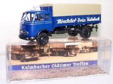 """Brekina Sondermodell: Mercedes-Benz LP 334 Pritsche """"Mönchshof-Bräu Kulmbach"""""""