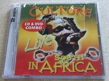 CULTURE Live in South Africa CD + DVD Combo SOUTH AFRICA Cat# REVCDD 646