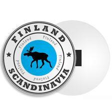 Finland Fridge Magnet - Scandinavia Helsinki Rovaniemi Suomenlinna Gift #4525