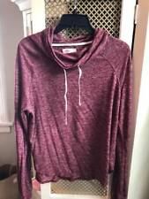 HOLLISTER juniors marled red top Size M