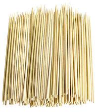 """2000 Pcs  11.8"""" Bamboo Skewers Wood Sticks BBQ Shish Kabob Fondue Grill LOT!!!"""