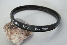52mm KENKO UV Ultra Violet Filter + Free UK Postage