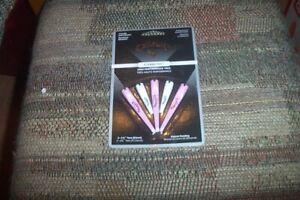 2 packs BRAND NEW Callaway Eterni - Tees - 5 Count  2 white  3 pink  2 1/8 3 1/4