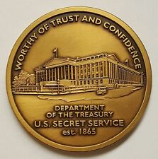 USSS United States Secret Service Department of the Treasury Coin Pre-DHS 1.75""