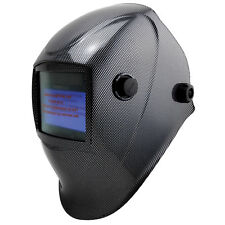Bossweld X-SIGHT CARBON ELECTRONIC WELDING HELMET Variable Shade, Quad Sensors