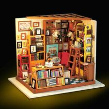 Puppenhaus DIY Gewächshaus Holz Zubehör Kits Miniatur Möbel Bausatz Geburtstags
