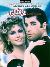 Grease Is Still the Word Sheet Music Easy Piano SongBook NEW 000316044