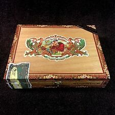 MY FATHER CIGARS FLOR DE LAS ANTILLAS TOROS GORDOS WOOD CIGAR BOX - BEAUTIFUL!