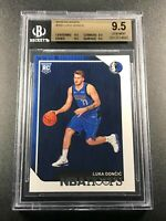 LUKA DONCIC 2018 PANINI NBA HOOPS #268 ROOKIE RC ALL BGS 9.5 SUBGRADES