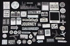 Kaisercraft 'JUST LANDED' Collectables Die Cut Shapes Holiday/Travel NEW KAISER