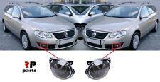 FOR VW PASSAT B6 2006 - 2010 NEW FRONT BUMPER FOGLIGHT LAMP HB4 PAIR SET