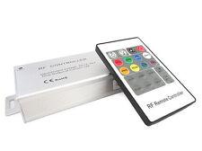 Centralina RGB Controller Telecomando RF Remote Wireless Con 20 Tasti Per Bobina