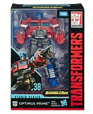 Transformers Studio Series 38 Optimus Prime SS-38 Bumblebee Movie New In Hand