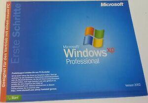Microsoft Windows XP Professional - 32 Bit - Deutsch