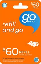 AT&T Go Phone $60 Refill, fast & right
