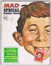 MAD SPECIAL NUMBER THREE and MAD SUPER SPECIAL NUMBER NINETEEN - VG (No Inserts)