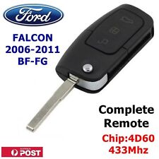 FORD FALCON BF REMOTE FLIP KEY BLANK CAR KEY COMPLETE KEY READY FOR PROGRAMMING