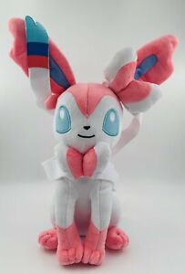 Plush Sylveon Fairy Eevee Soft Toy Stuffed Animal Doll Teddy 12""