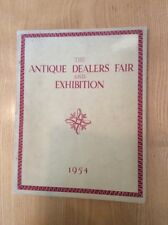 The Antique Dealers Fair and Exhibition 1954