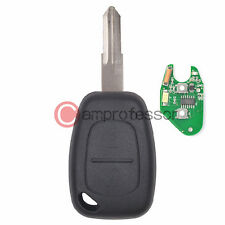 New Uncut Remote Key Fob 2 Button 433MHz PCF7946 for Renault Kangoo 2003-2008