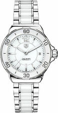 TAG Heuer Quarz-Armbanduhren (Batterie) mit Datumsanzeige für Damen