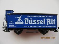 märklin SoMo Bierwagen Düssel Alt Hirschbraurei Düsseldorf mit Bremserhaus