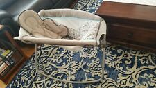 Eddie Bauer Slumber And Soothe Bassinet Vibrates, Foldable Crib -Excellent Cond!