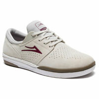 Lakai Skateboard Shoes Fremont White/Gum Suede