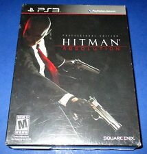 Hitman: Absolution -- Professional Edition Sony PlayStation 3 *Factory Sealed!