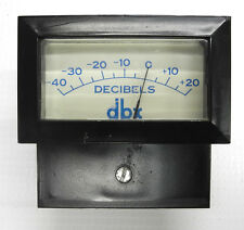 Used dbx 160 161 162 Original Beede Level Meter, Good Cond. Tested Warranty. DM