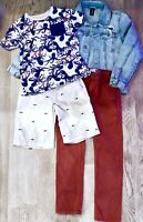 Octopus Old Navy Tee Shark Shorts Pants Gap Jean Jacket Trendy Gap Outfit # 374