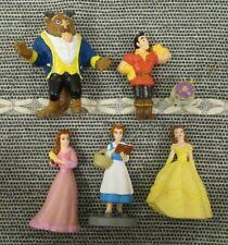 Beauty & the Beast Disney Princess figure toy playset Belle Gaston Mrs Potts