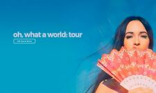 """KACEY MUSGRAVES """"OH, WHAT A WORLD TOUR"""" 2019 CONCERT  POSTER -Country, Americana"""