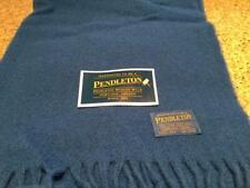 "Vintage Pendleton Stadium Blanket/Cushion-Blue 52""X70"" Port of Portland-New"