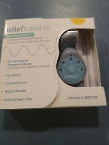 Reliefband Classic Anti-Nausea Wristband FDA Cleared Nausea & Vomiting Relief