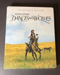 Dances with Wolves [ Collector's Edition STEELBOOK Pack ] (Blu-ray Disc) NEW